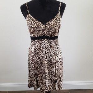 3/$20 George Leopard/Cheetah Print Lingerie Gown